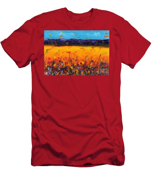 Melissa's Meadow Men's T-Shirt (Athletic Fit)