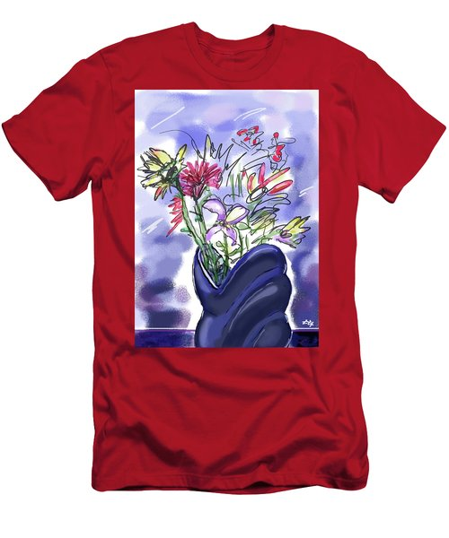 Memory Of Spring Men's T-Shirt (Athletic Fit)