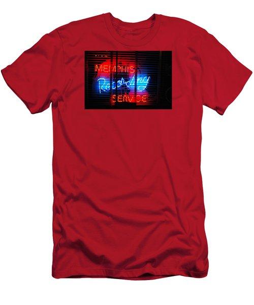Memphis Neon Men's T-Shirt (Athletic Fit)