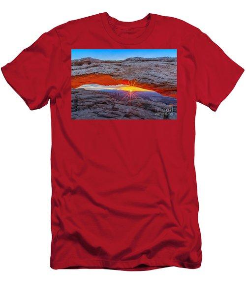 Mesa Morning  Men's T-Shirt (Athletic Fit)