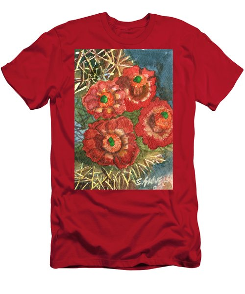 Mexican Pincushion Men's T-Shirt (Slim Fit) by Eric Samuelson
