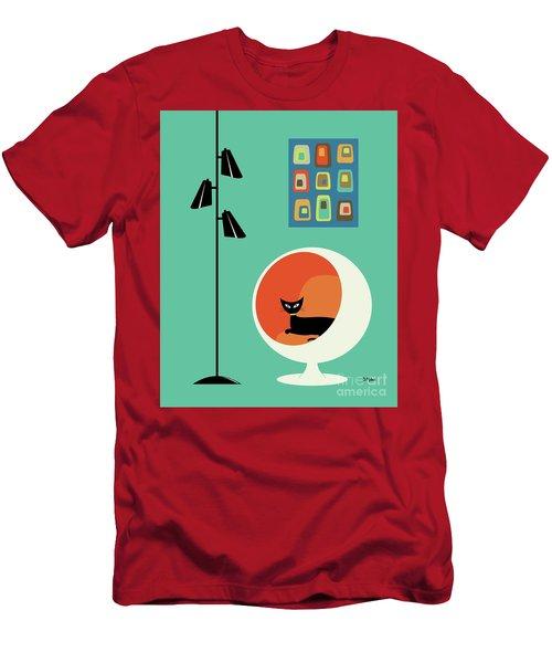Mid Century Mini Oblongs Men's T-Shirt (Athletic Fit)