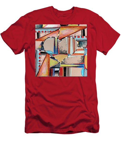 Mixed Messages Men's T-Shirt (Slim Fit) by Mindy Newman