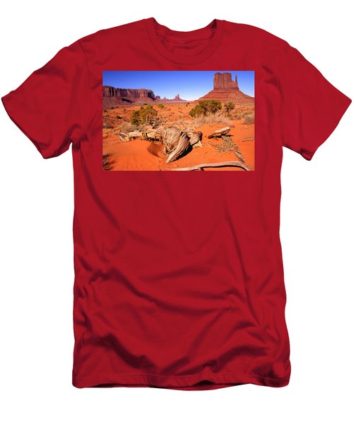 Monument Valley, Arizona, U S A Men's T-Shirt (Athletic Fit)