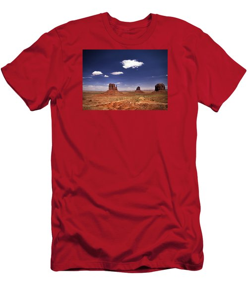 Monument Valley Men's T-Shirt (Slim Fit) by James Bethanis