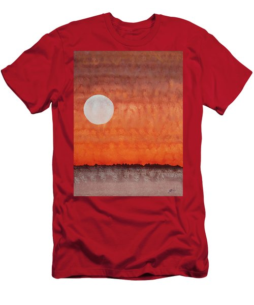 Moon Over Mojave Men's T-Shirt (Athletic Fit)
