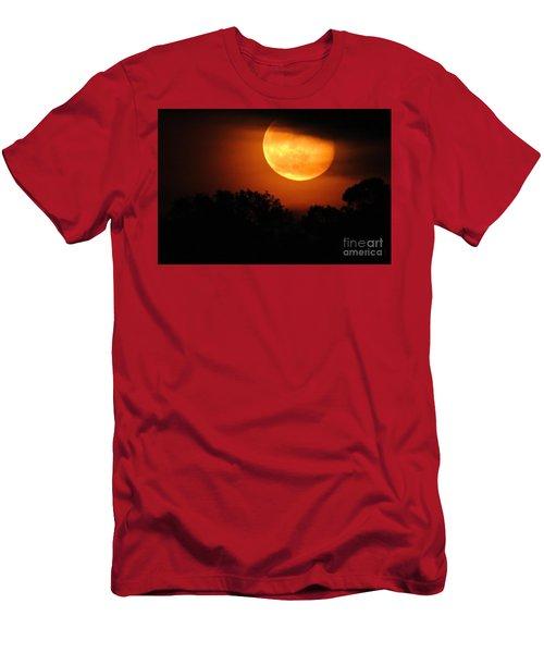 Moon Rise Men's T-Shirt (Slim Fit) by Shelia Kempf