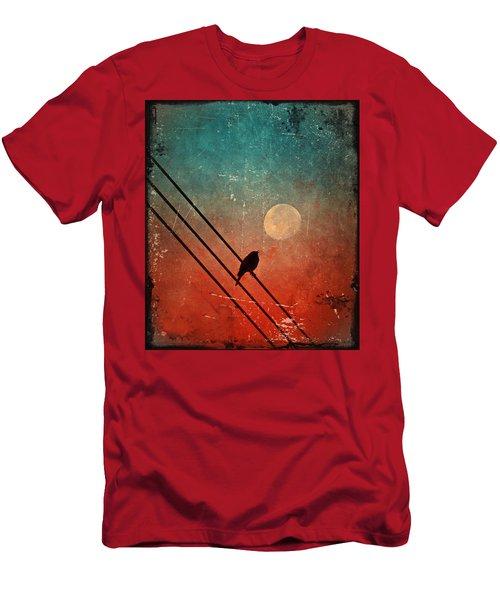 Moon Talk Men's T-Shirt (Athletic Fit)