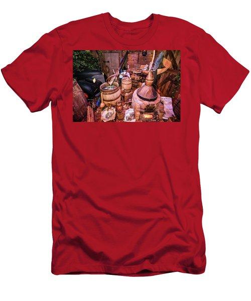 Moonshine Still Men's T-Shirt (Athletic Fit)