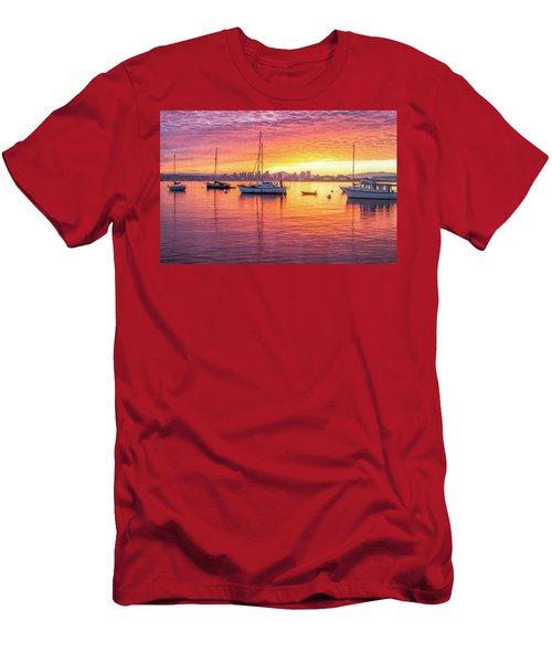 Morning Glow Men's T-Shirt (Slim Fit) by Joseph S Giacalone