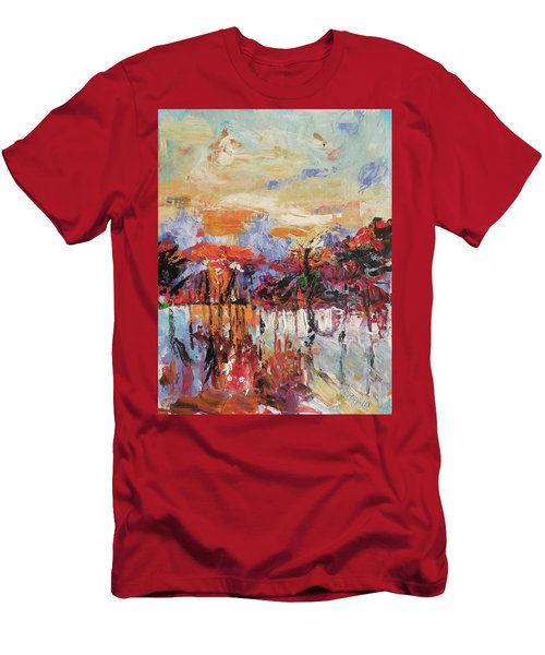 Morning In The Garden Men's T-Shirt (Athletic Fit)