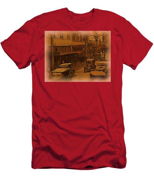 Morning Traffic Men's T-Shirt (Athletic Fit)