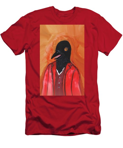 Mr. Crow's Portrait Men's T-Shirt (Athletic Fit)