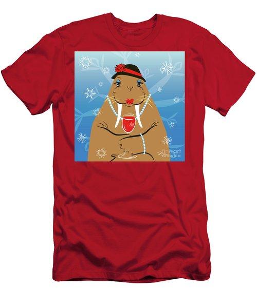 Mrs. Walrus Men's T-Shirt (Athletic Fit)