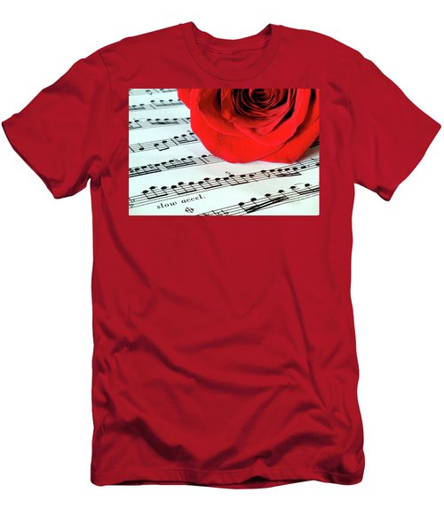 Music Lover  Men's T-Shirt (Athletic Fit)