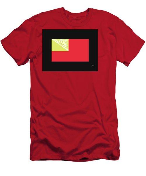 Men's T-Shirt (Slim Fit) featuring the digital art Music Notes 2 by David Bridburg