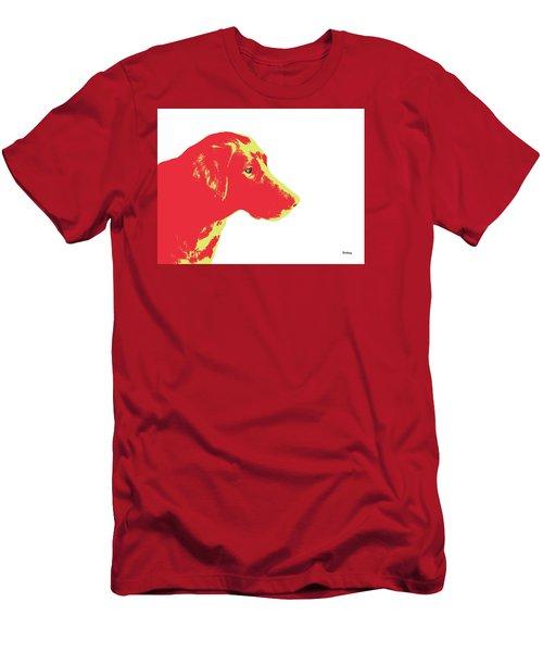 Men's T-Shirt (Slim Fit) featuring the digital art Music Notes 6 by David Bridburg