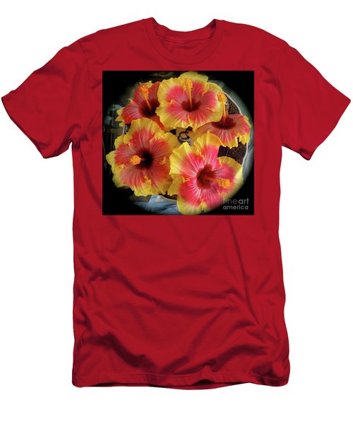My Hibiscus Garden Men's T-Shirt (Athletic Fit)