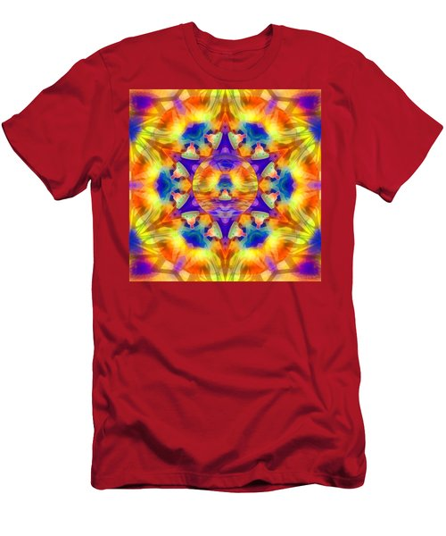 Men's T-Shirt (Athletic Fit) featuring the digital art Mystic Universe Kk 12 by Derek Gedney