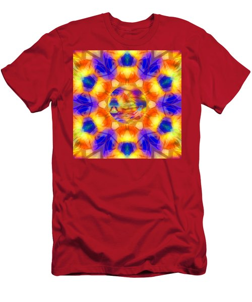 Men's T-Shirt (Athletic Fit) featuring the digital art Mystic Universe 12 Kk2 by Derek Gedney