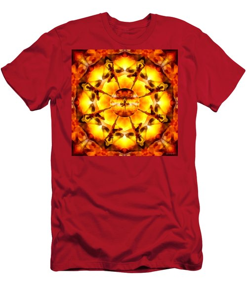 Men's T-Shirt (Athletic Fit) featuring the digital art Mystic Universe Kk 7 by Derek Gedney