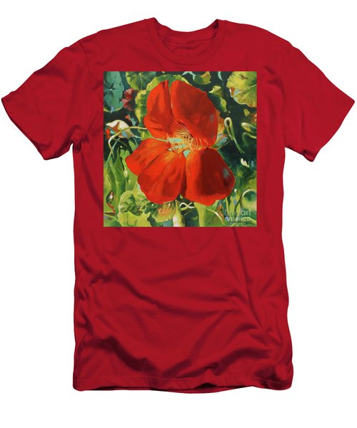Nasturtium Men's T-Shirt (Athletic Fit)