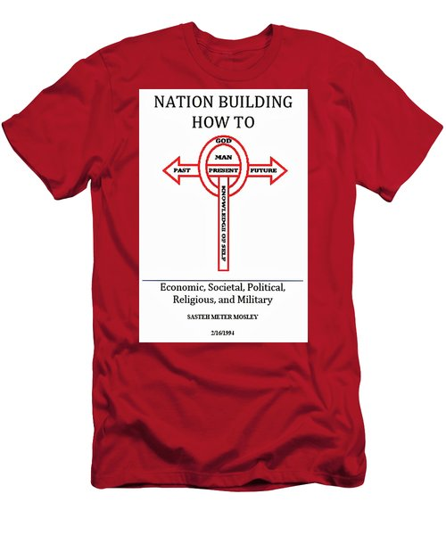 Nation Building How To Book Men's T-Shirt (Athletic Fit)