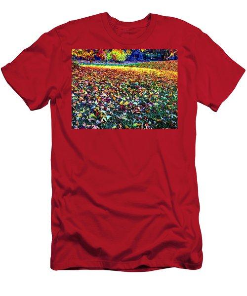 Nature Romancing Us Men's T-Shirt (Athletic Fit)