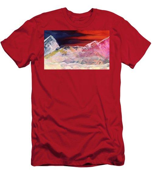 Near Arrow Mountains Men's T-Shirt (Athletic Fit)