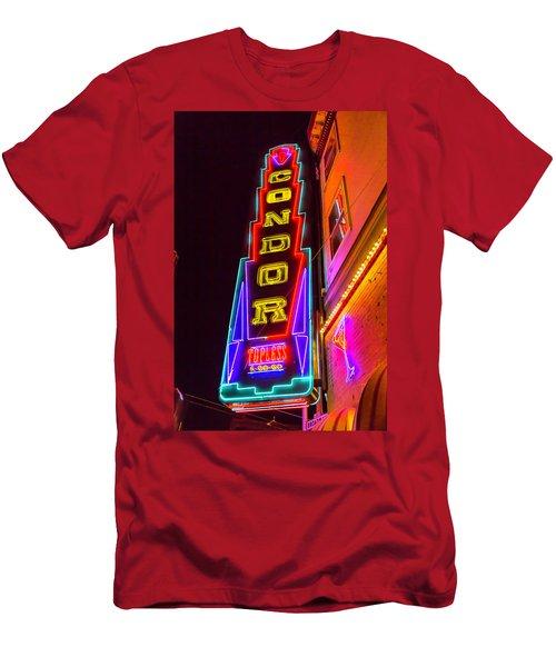 Neon Condor San Francisco Men's T-Shirt (Athletic Fit)