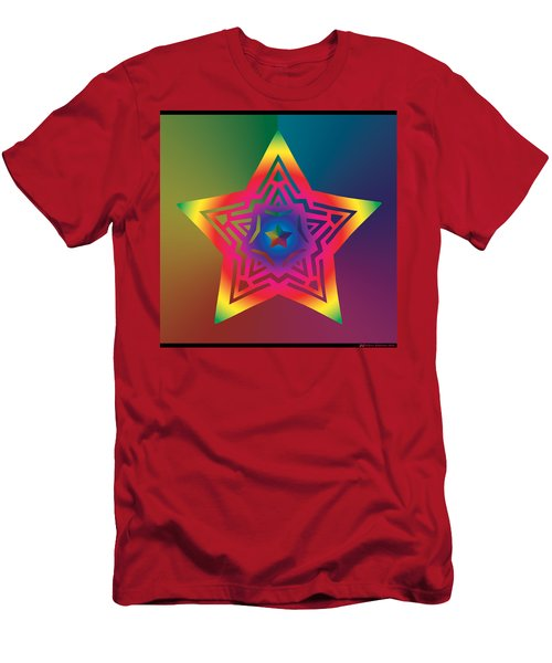 New Star 1a Men's T-Shirt (Athletic Fit)