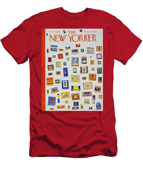 New Yorker December 13 1958 Men's T-Shirt (Athletic Fit)