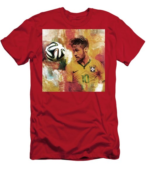 Neymar 05d Men's T-Shirt (Slim Fit) by Gull G