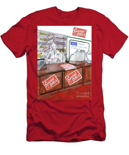 NHS Men's T-Shirt (Athletic Fit)