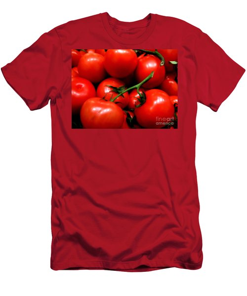 Men's T-Shirt (Slim Fit) featuring the photograph Nice Tomatoes Baby by RC DeWinter