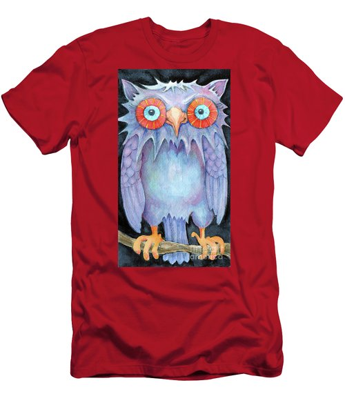 Night Owl Men's T-Shirt (Athletic Fit)