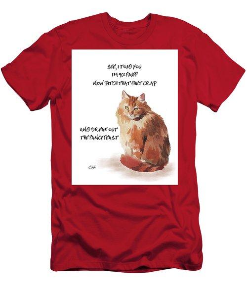 No Fat Cat Men's T-Shirt (Athletic Fit)