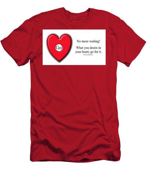 No More Waiting Men's T-Shirt (Athletic Fit)