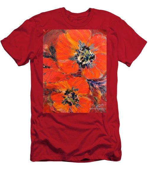 Magic Poppy Men's T-Shirt (Athletic Fit)