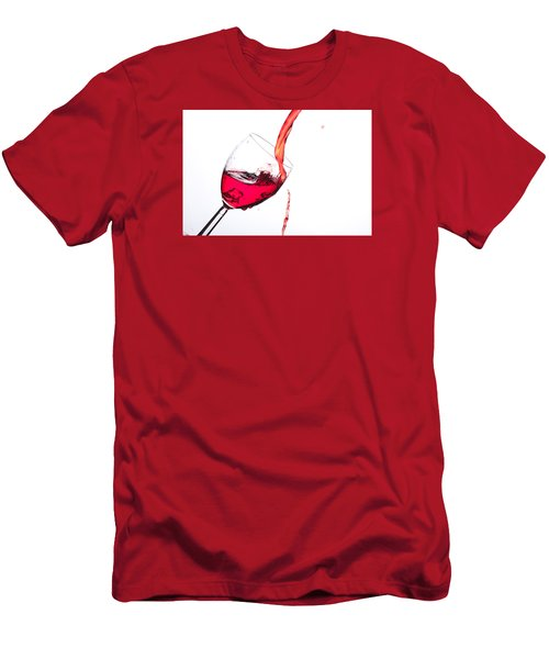 No Wine Was Harmed During The Making Of This Image Men's T-Shirt (Athletic Fit)