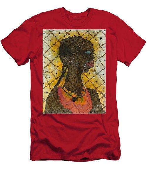 No Woman, No Cry Men's T-Shirt (Athletic Fit)