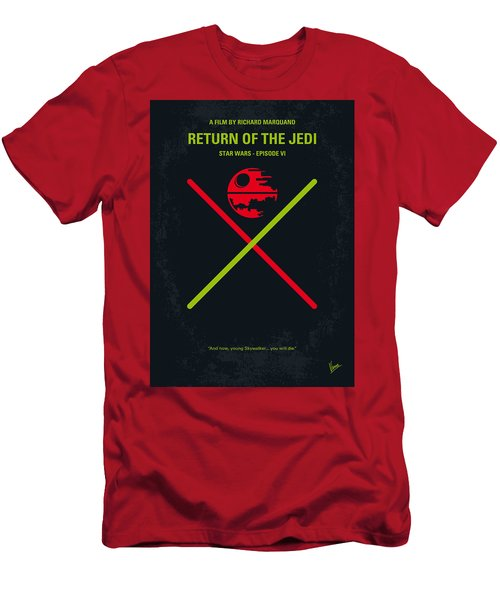 No156 My Star Wars Episode Vi Return Of The Jedi Minimal Movie Poster Men's T-Shirt (Athletic Fit)