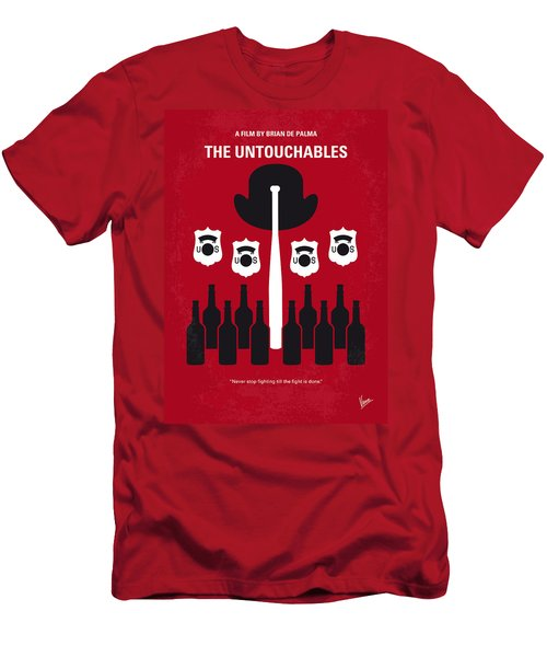 No463 My The Untouchables Minimal Movie Poster Men's T-Shirt (Athletic Fit)