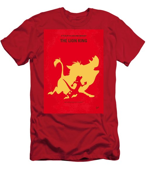 No512 My The Lion King Minimal Movie Poster Men's T-Shirt (Slim Fit) by Chungkong Art
