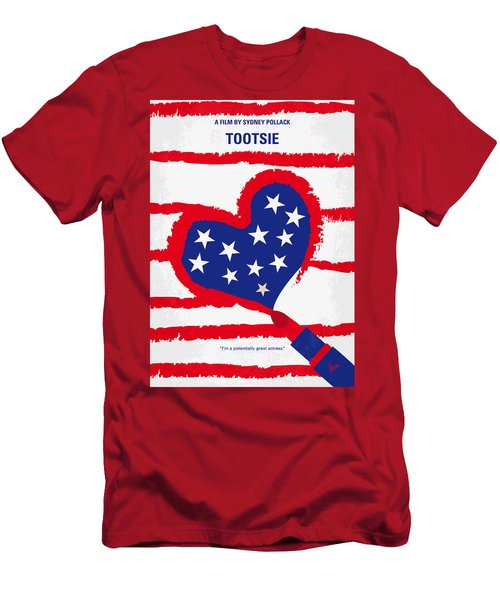 No646 My Tootsie Minimal Movie Poster Men's T-Shirt (Athletic Fit)