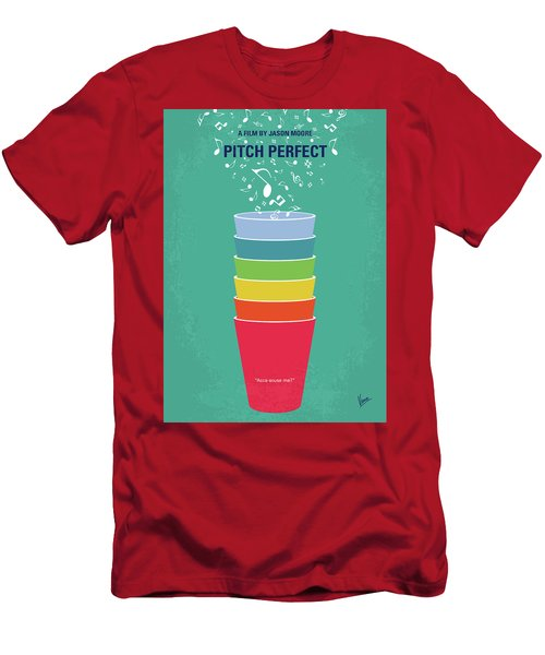 No660 My Pitch Perfect Minimal Movie Poster Men's T-Shirt (Athletic Fit)