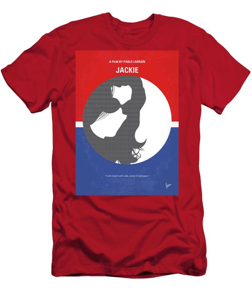 Men's T-Shirt (Slim Fit) featuring the digital art No755 My Jackie Minimal Movie Poster by Chungkong Art