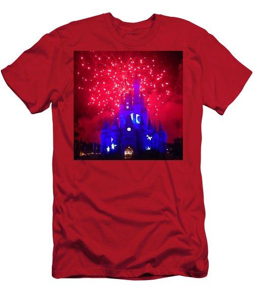 The Sorcerors Castle  Men's T-Shirt (Athletic Fit)
