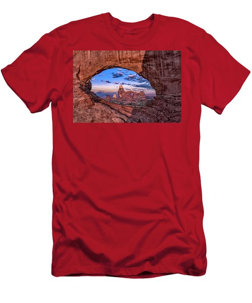 North Window At Sunrise Men's T-Shirt (Athletic Fit)