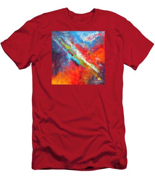 Fantasies In Space Series Painting. Nova Sonata Men's T-Shirt (Athletic Fit)
